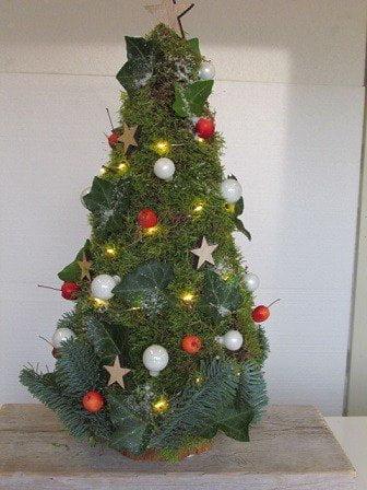 Kerstboom Van Mos Deco Rata